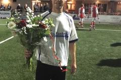 Dirk met de bloemen